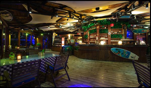 沙滩吧咖啡厅(室内)
